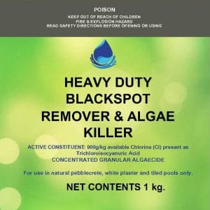 HEAVY DUTY BLACKSPOT REMOVER & ALGAE KILLER