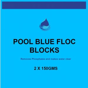 pool blue flock block