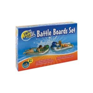 Ride On Battle Board Set with Water Pistols