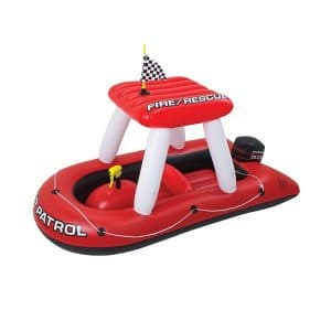 Fire Boat Super Squirter Ride On